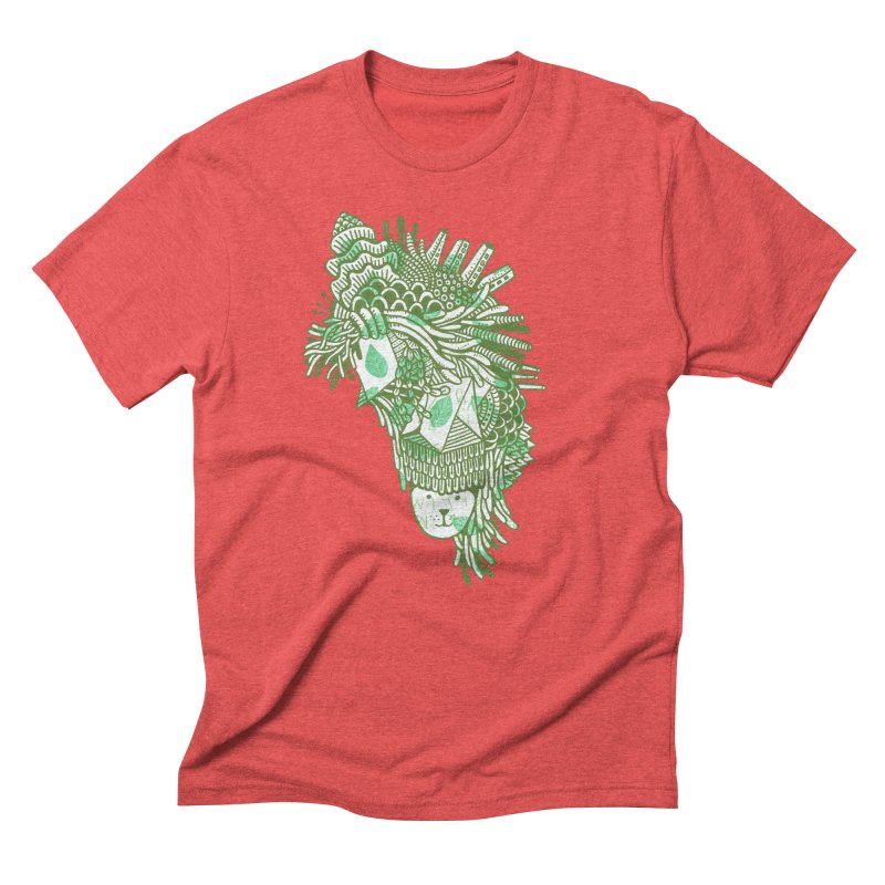 Vegetation Men's Triblend T-Shirt by The Babybirds
