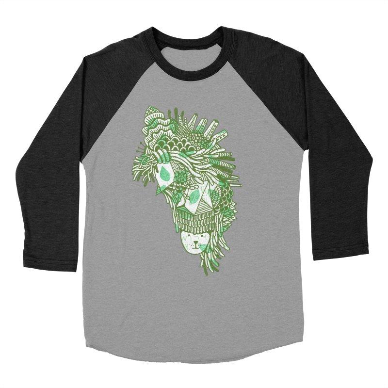 Vegetation Women's Baseball Triblend Longsleeve T-Shirt by The Babybirds