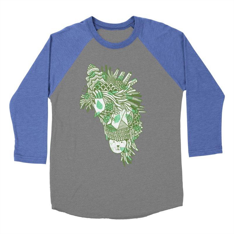 Vegetation Men's Baseball Triblend Longsleeve T-Shirt by The Babybirds