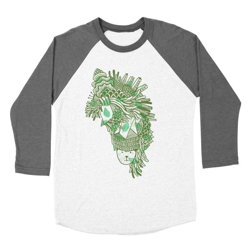 Vegetation Men's Baseball Triblend T-Shirt by The Babybirds