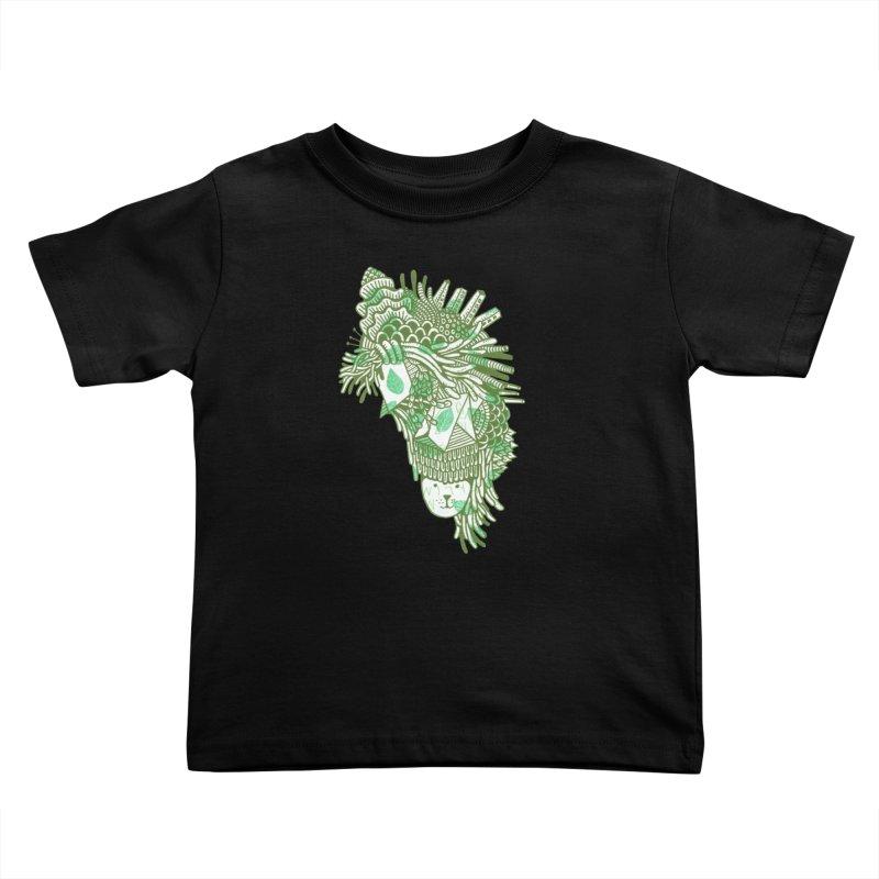 Vegetation Kids Toddler T-Shirt by The Babybirds