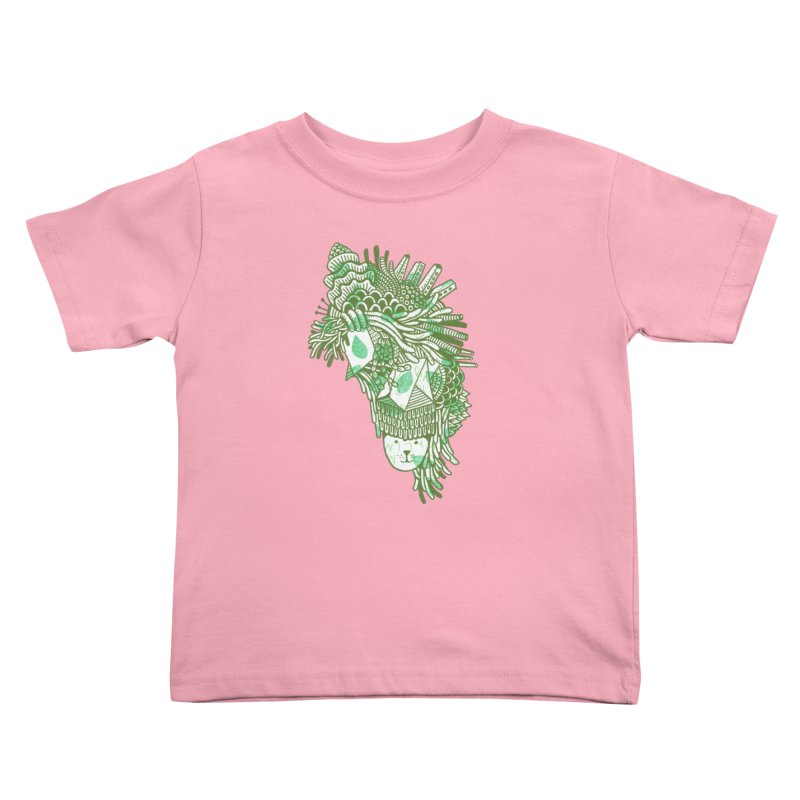 Vegetation Kids Toddler T-Shirt by The Babybirds