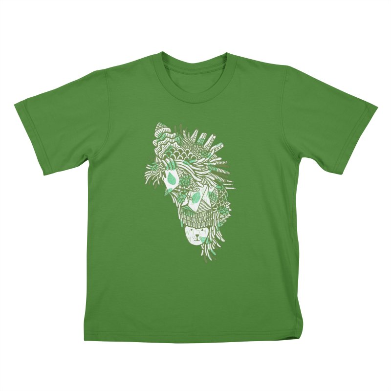 Vegetation Kids T-shirt by The Babybirds