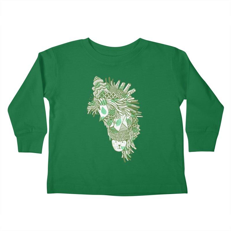 Vegetation Kids Toddler Longsleeve T-Shirt by The Babybirds