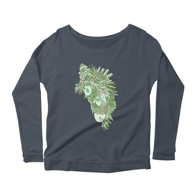 Vegetation Women's Scoop Neck Longsleeve T-Shirt by The Babybirds