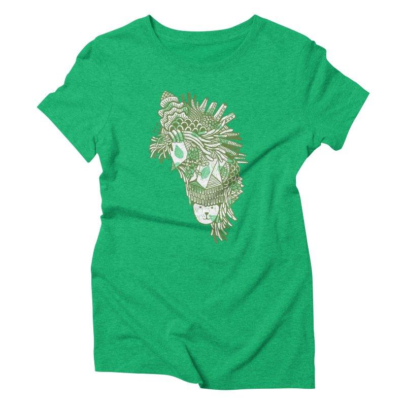 Vegetation Women's Triblend T-Shirt by The Babybirds