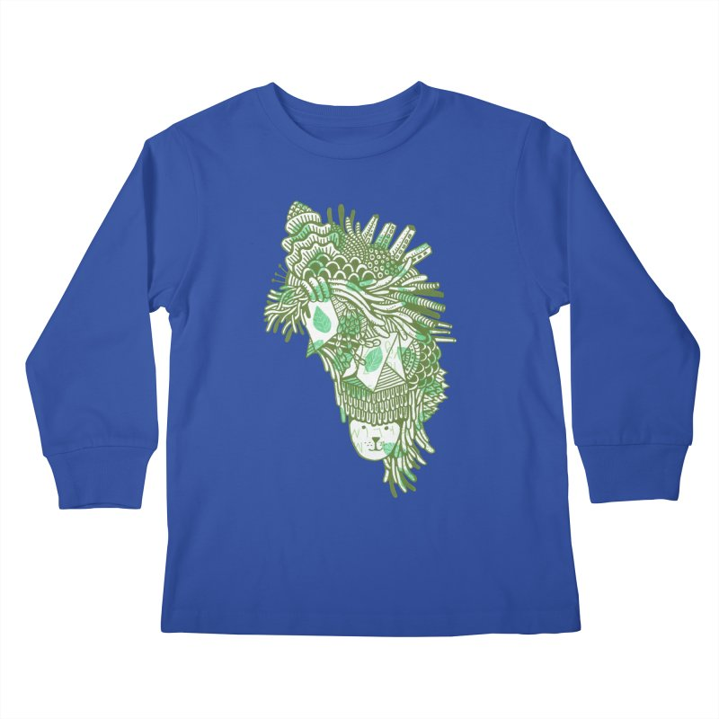 Vegetation Kids Longsleeve T-Shirt by The Babybirds