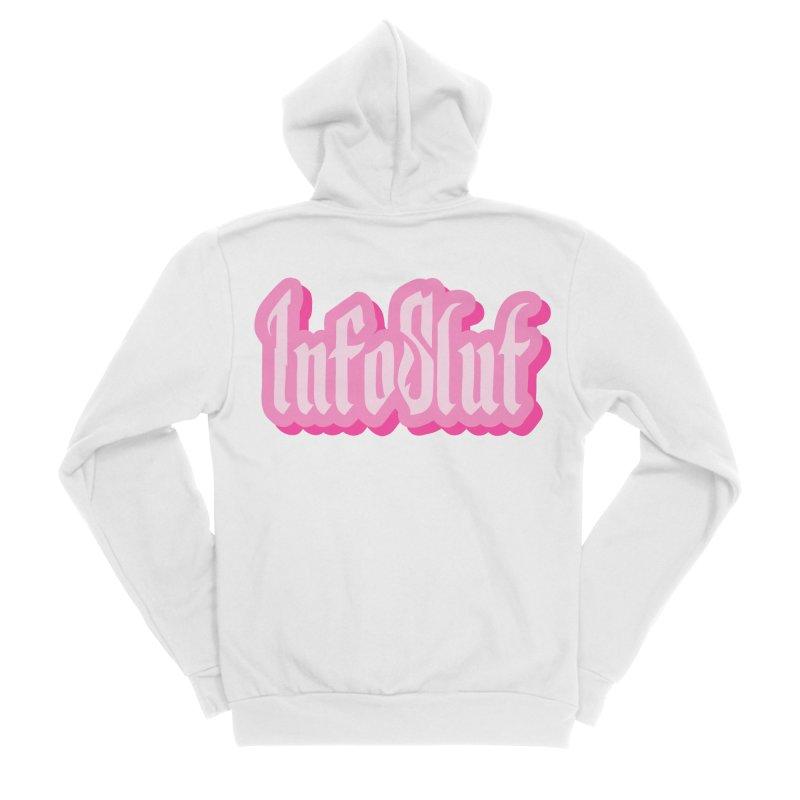 InfoSlut Men's Zip-Up Hoody by The Badass Army Shop