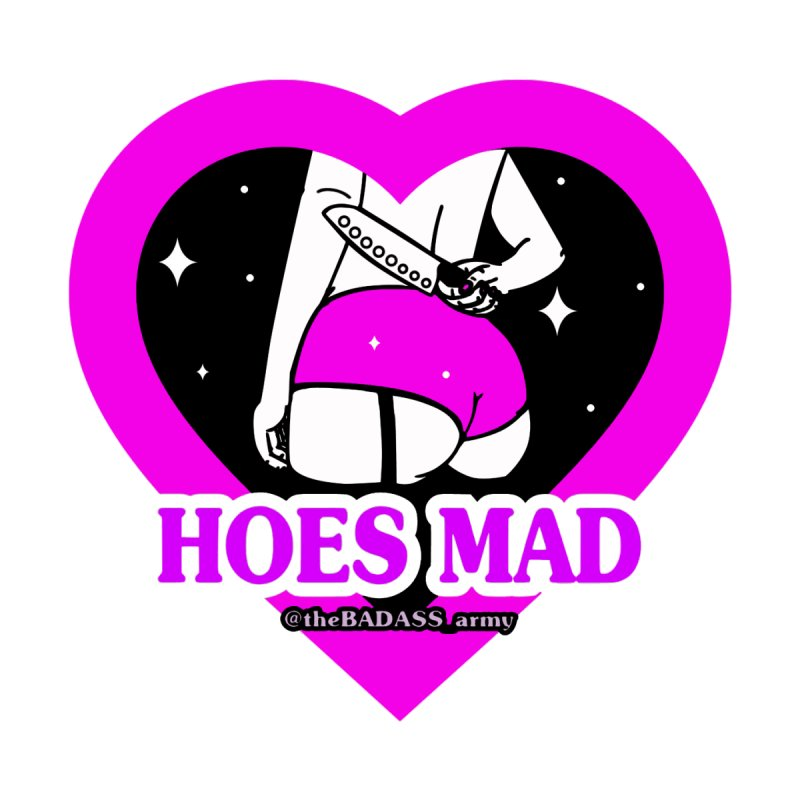 Hoes Mad Men's T-Shirt by The Badass Army Shop