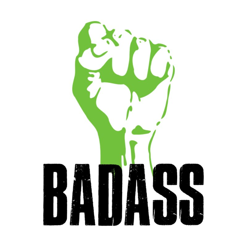 BADASS Men's Sweatshirt by thebadassarmy's Artist Shop