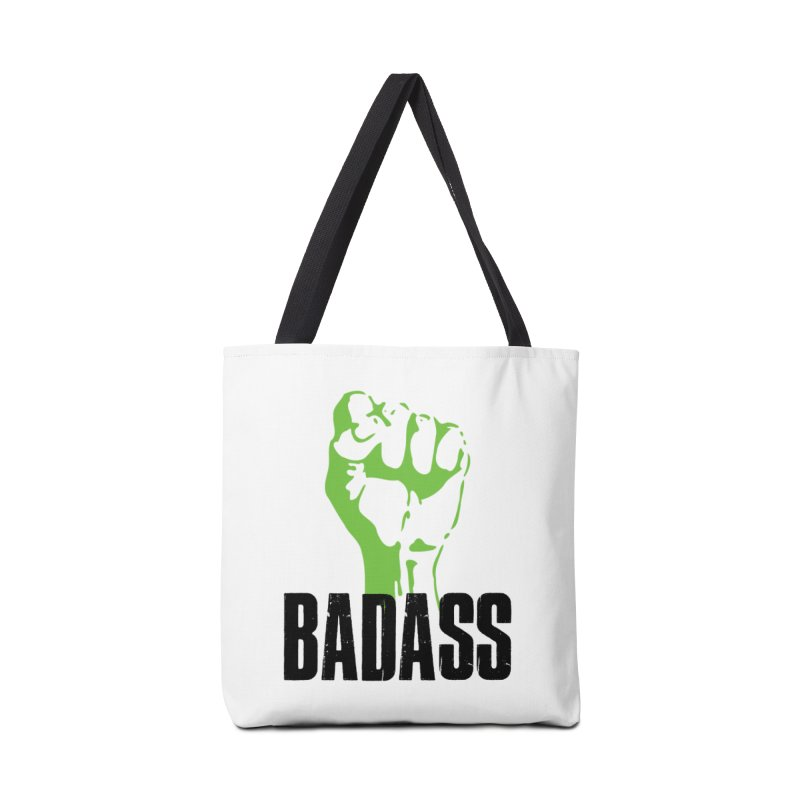 BADASS Accessories Tote Bag Bag by thebadassarmy's Artist Shop