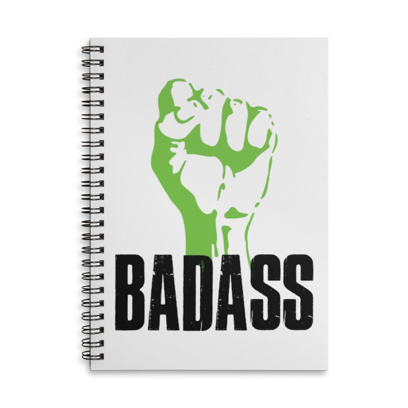 BADASS Accessories Notebook by thebadassarmy's Artist Shop