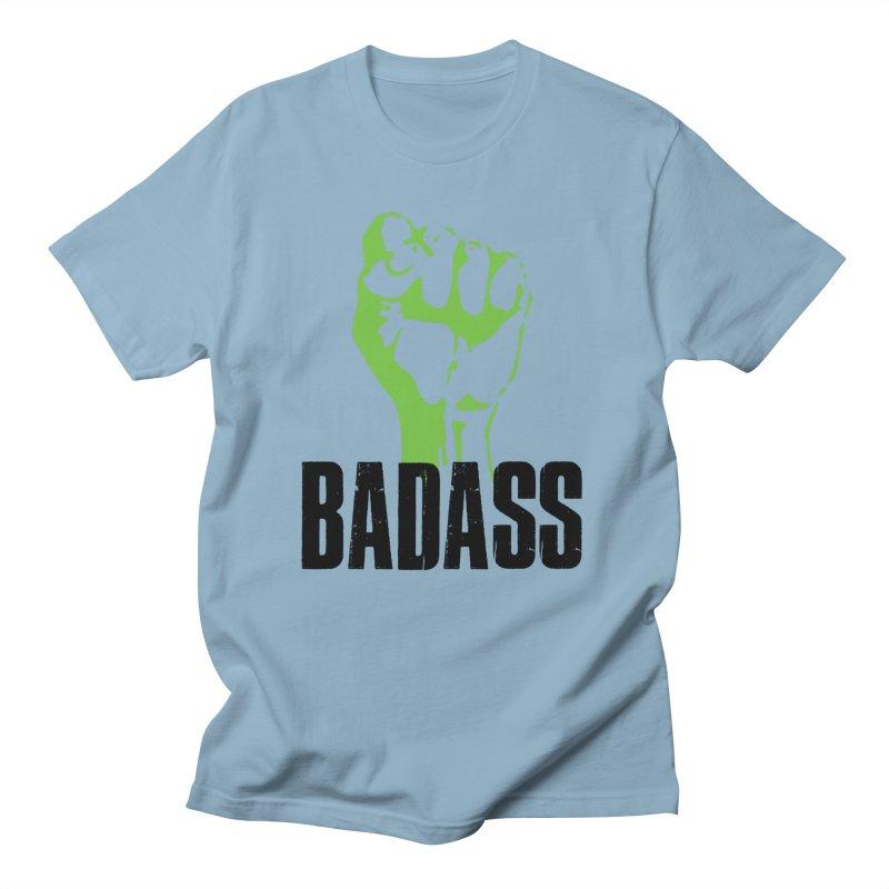 BADASS Men's T-Shirt by thebadassarmy's Artist Shop
