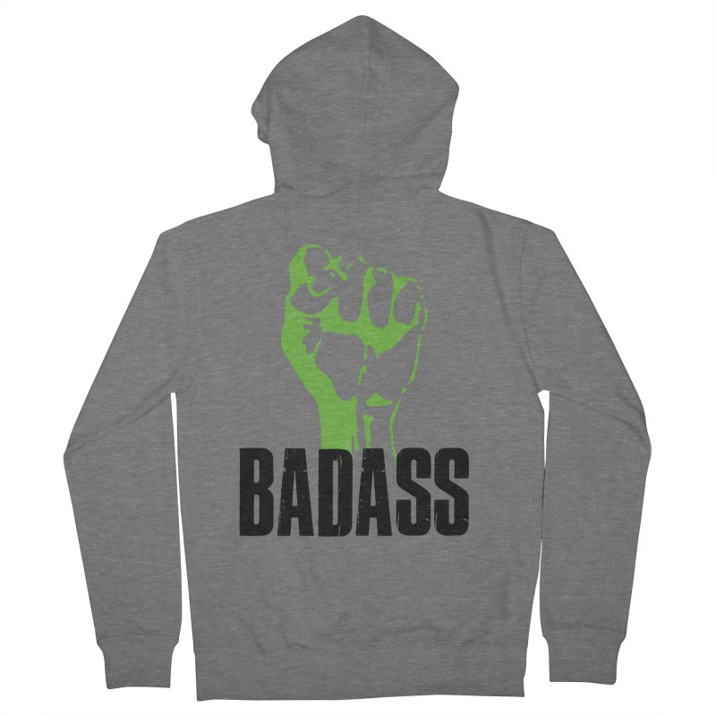 BADASS Women's French Terry Zip-Up Hoody by The Badass Army Shop