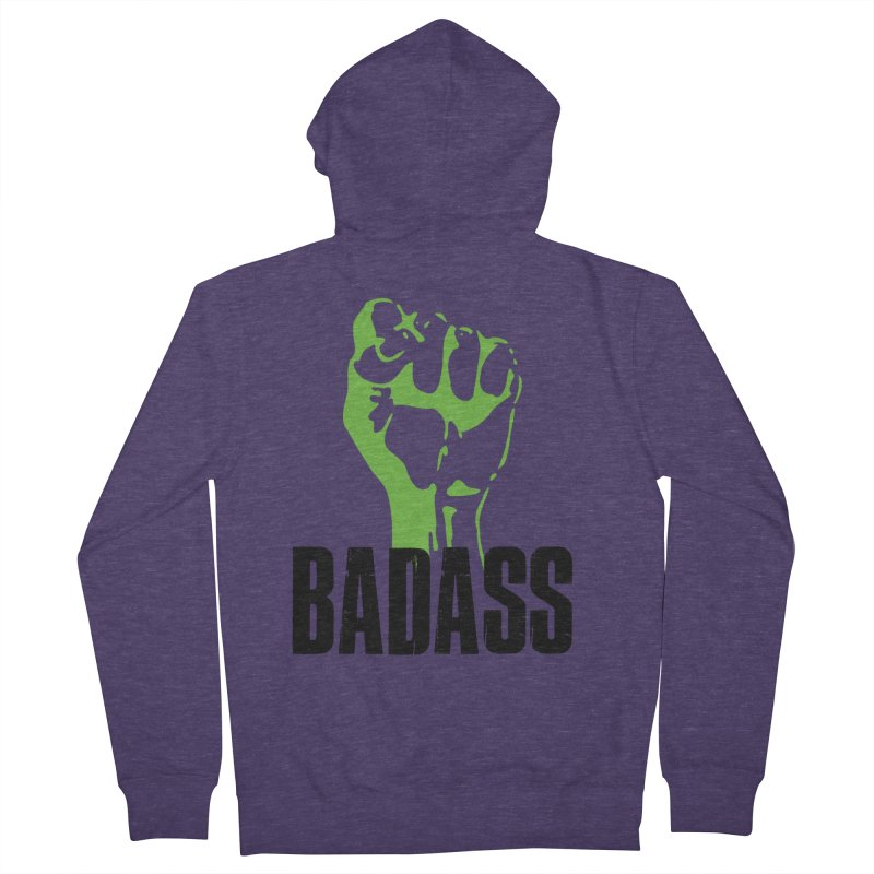 BADASS Men's French Terry Zip-Up Hoody by The Badass Army Shop
