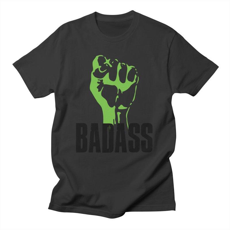 BADASS Men's Regular T-Shirt by thebadassarmy's Artist Shop
