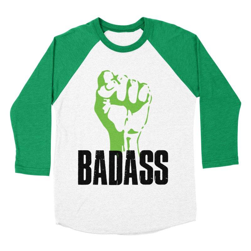 BADASS Women's Baseball Triblend Longsleeve T-Shirt by thebadassarmy's Artist Shop