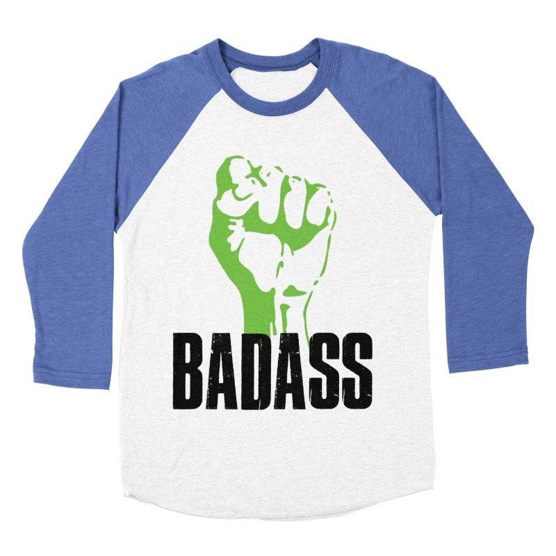 BADASS Men's Baseball Triblend Longsleeve T-Shirt by The Badass Army Shop
