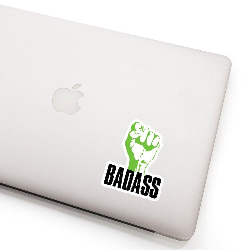 BADASS Accessories Sticker by thebadassarmy's Artist Shop