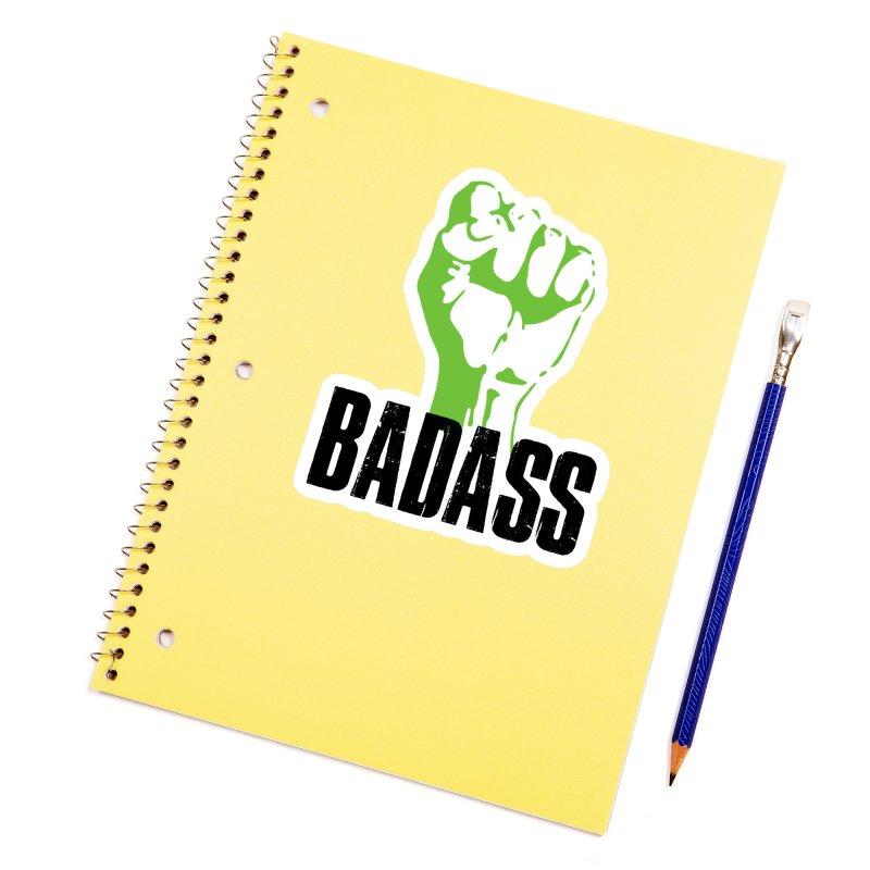 BADASS Accessories Sticker by The Badass Army Shop
