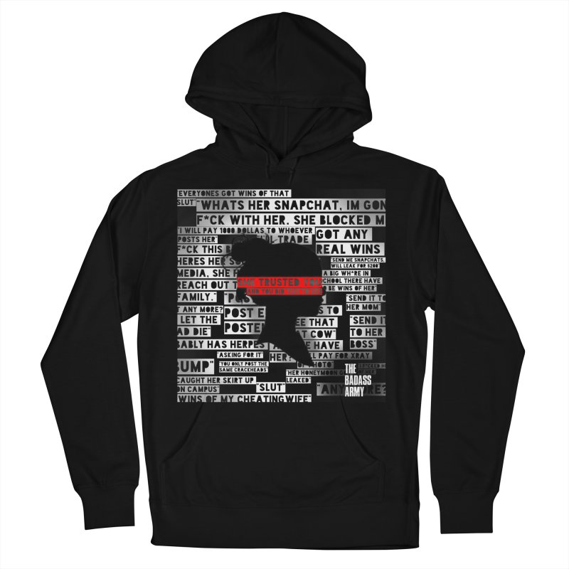 She Trusted You Women's Pullover Hoody by thebadassarmy's Artist Shop