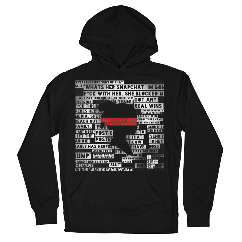 She Trusted You Women's French Terry Pullover Hoody by thebadassarmy's Artist Shop