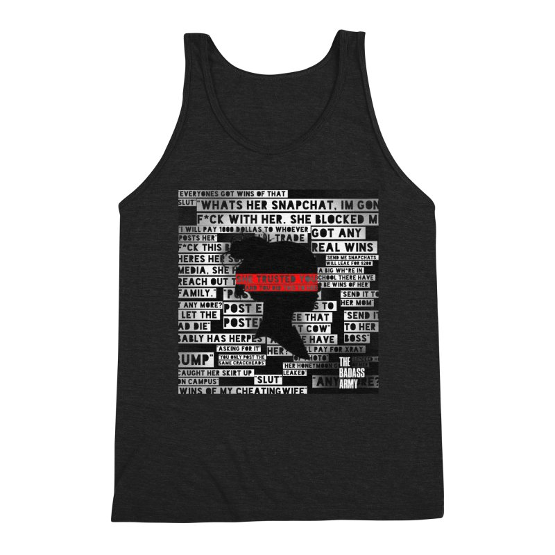 She Trusted You Men's Tank by The Badass Army Shop