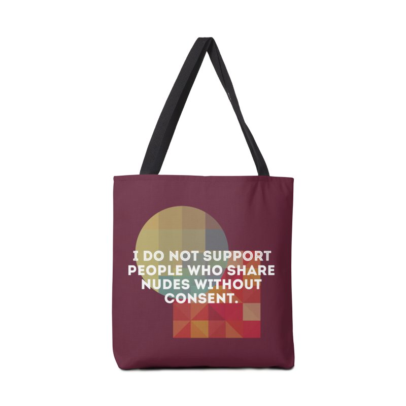 Things I Don't Support Accessories Tote Bag Bag by thebadassarmy's Artist Shop