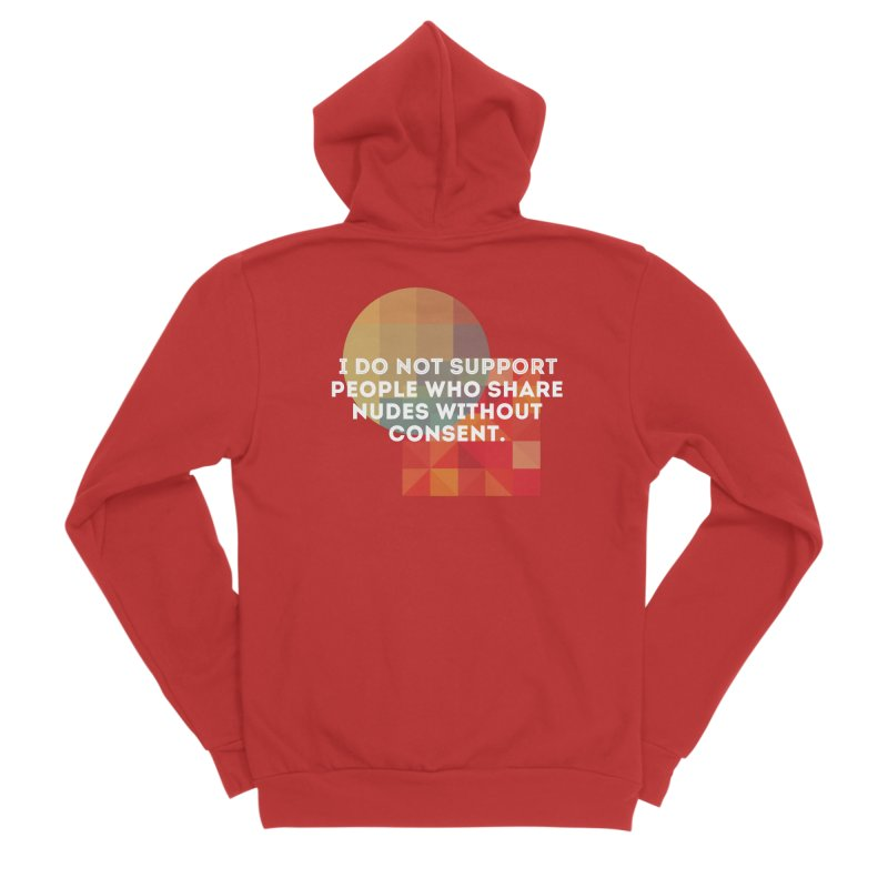 Things I Don't Support Men's Zip-Up Hoody by thebadassarmy's Artist Shop