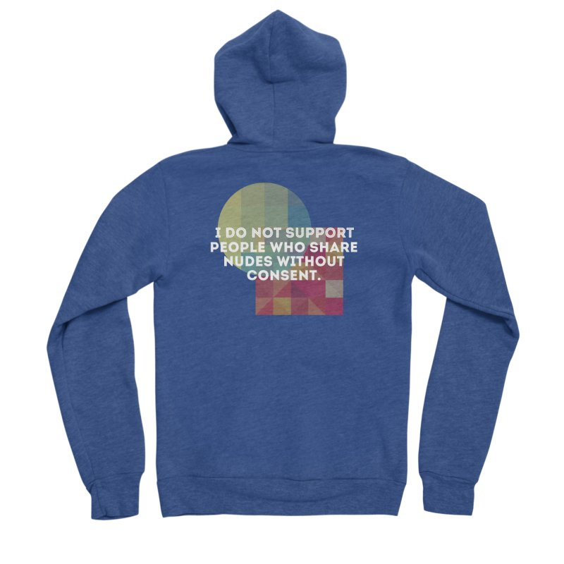 Things I Don't Support Women's Sponge Fleece Zip-Up Hoody by The Badass Army Shop