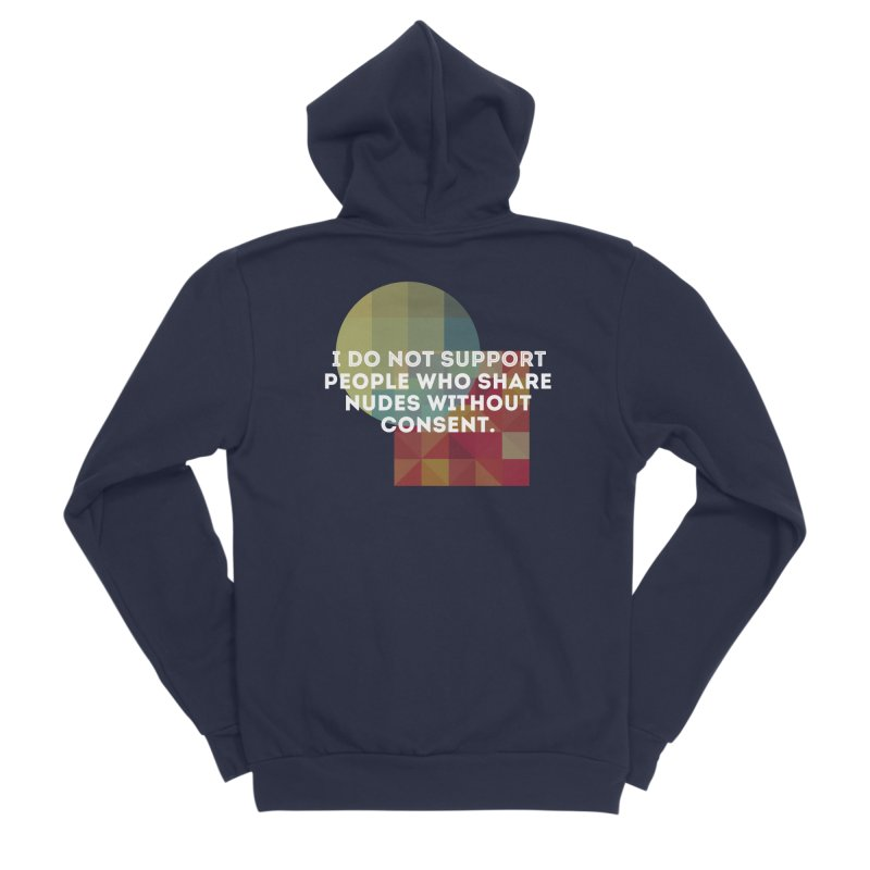 Things I Don't Support Men's Sponge Fleece Zip-Up Hoody by The Badass Army Shop