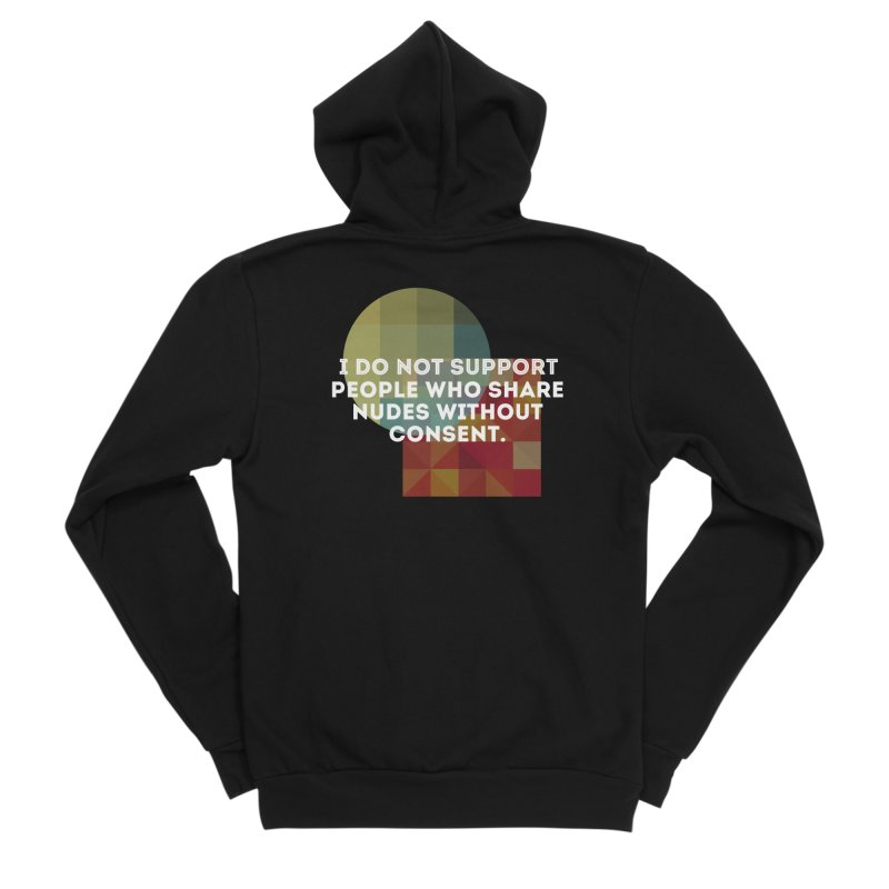 Things I Don't Support Men's Zip-Up Hoody by The Badass Army Shop