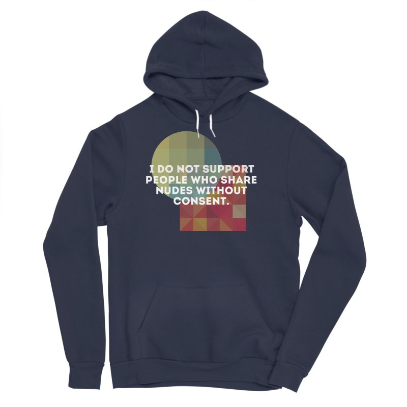 Things I Don't Support Men's Sponge Fleece Pullover Hoody by The Badass Army Shop