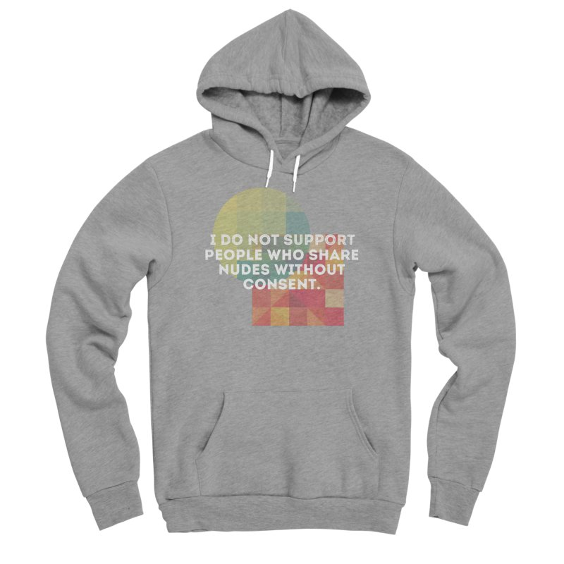 Things I Don't Support Men's Sponge Fleece Pullover Hoody by thebadassarmy's Artist Shop