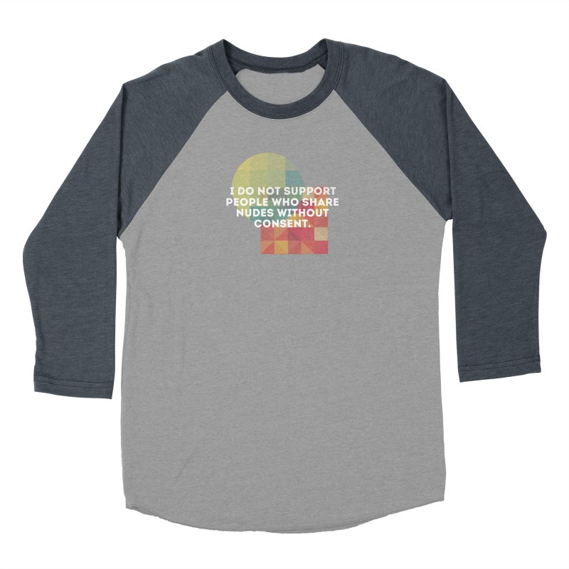 Things I Don't Support Women's Baseball Triblend Longsleeve T-Shirt by The Badass Army Shop