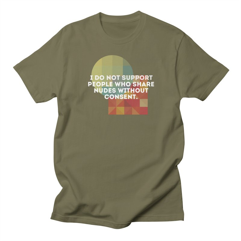 Things I Don't Support Men's T-Shirt by The Badass Army Shop