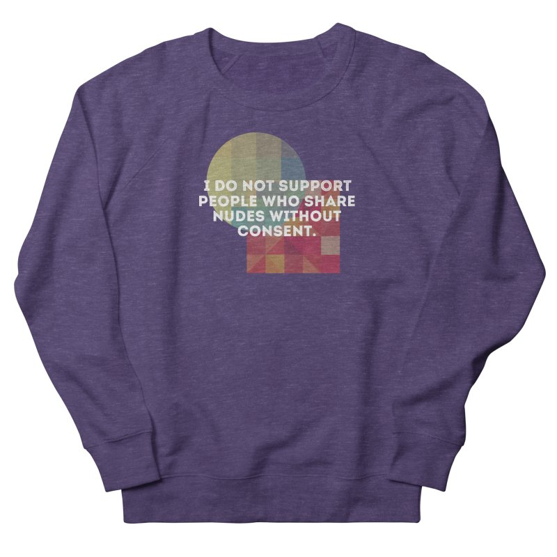 Things I Don't Support Women's French Terry Sweatshirt by thebadassarmy's Artist Shop