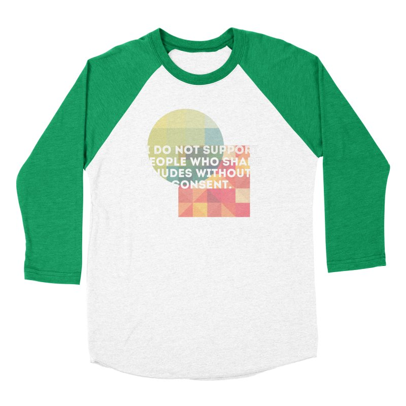 Things I Don't Support Women's Baseball Triblend Longsleeve T-Shirt by thebadassarmy's Artist Shop
