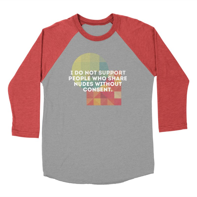 Things I Don't Support Women's Baseball Triblend Longsleeve T-Shirt by thebadassarmy's Artist Shop