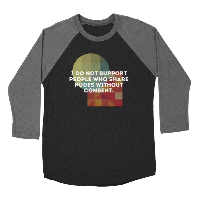 Things I Don't Support Men's Baseball Triblend Longsleeve T-Shirt by thebadassarmy's Artist Shop