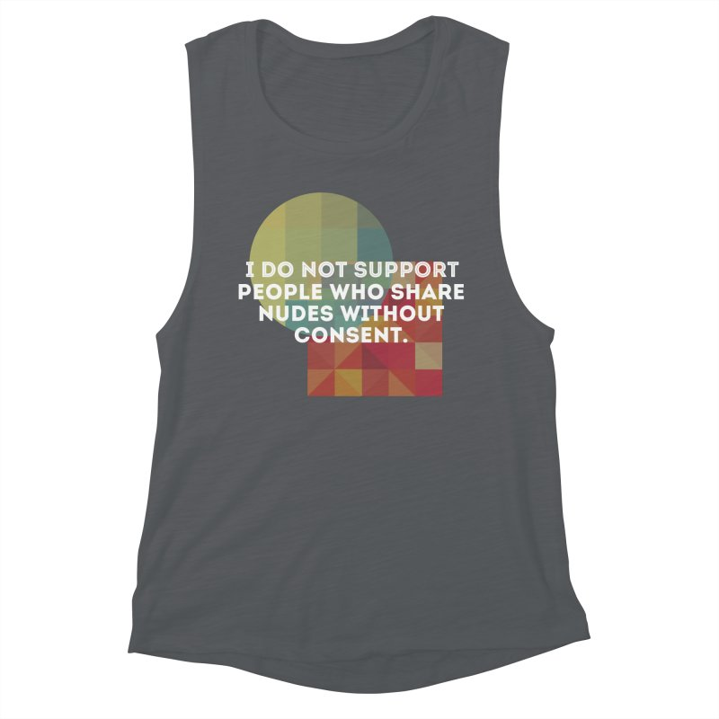 Things I Don't Support Women's Muscle Tank by The Badass Army Shop