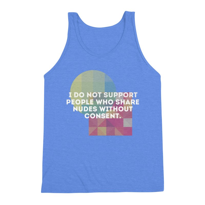 Things I Don't Support Men's Triblend Tank by The Badass Army Shop