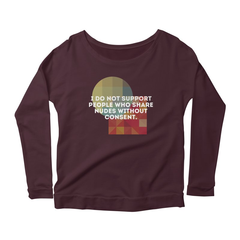 Things I Don't Support Women's Longsleeve T-Shirt by thebadassarmy's Artist Shop