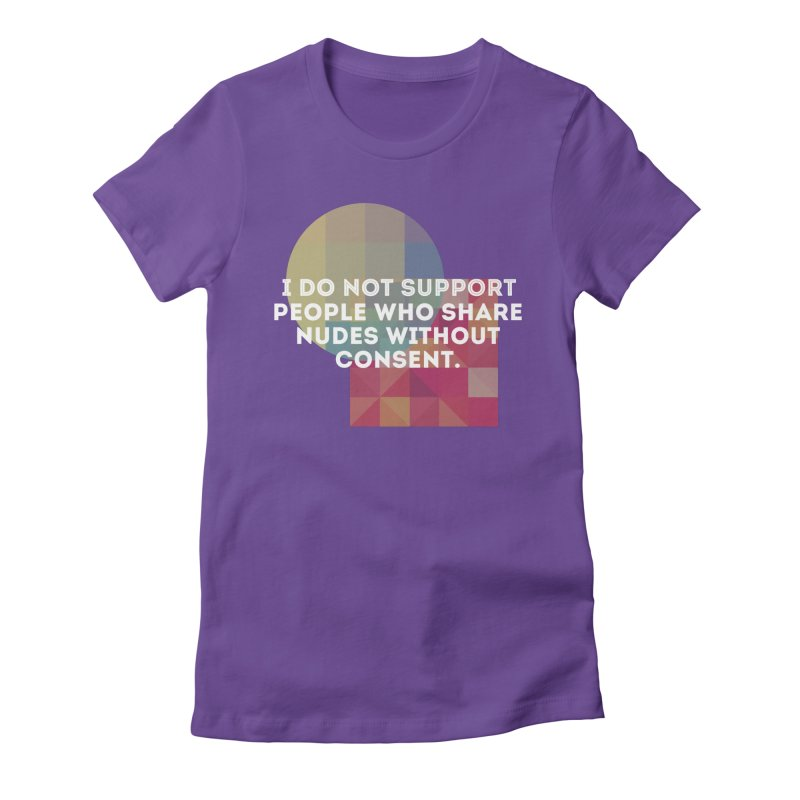 Things I Don't Support Women's Fitted T-Shirt by The Badass Army Shop