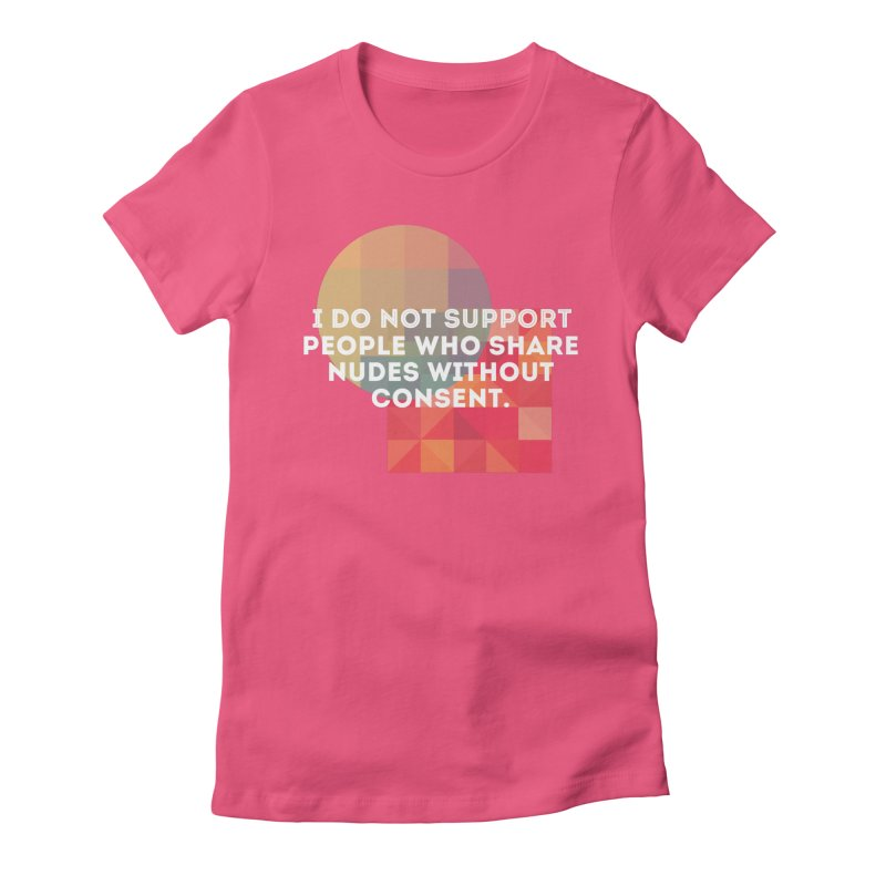 Things I Don't Support Women's Fitted T-Shirt by thebadassarmy's Artist Shop