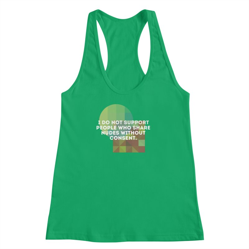 Things I Don't Support Women's Racerback Tank by thebadassarmy's Artist Shop