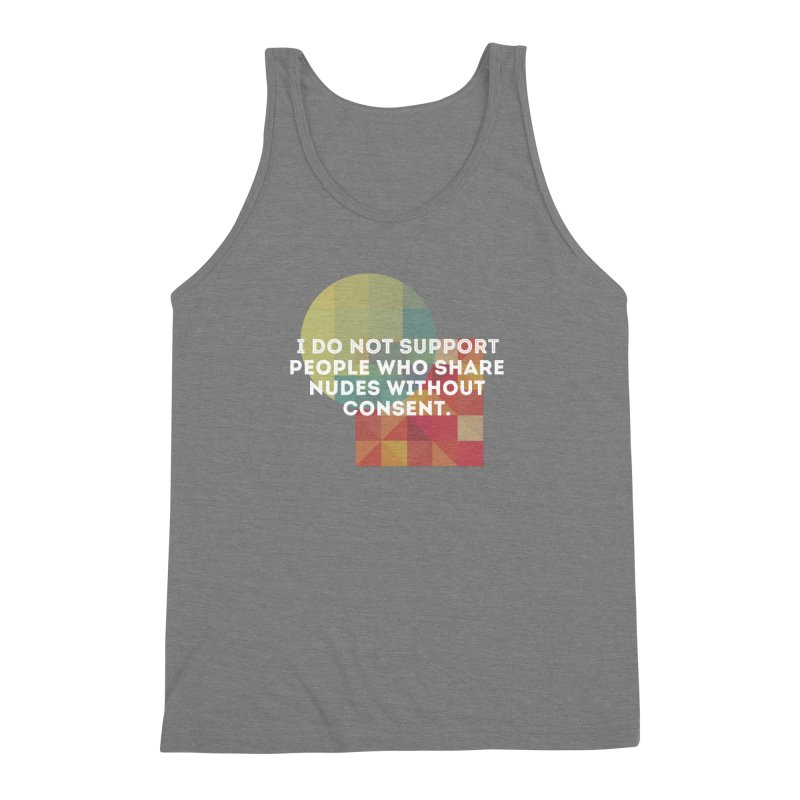 Things I Don't Support Men's Triblend Tank by thebadassarmy's Artist Shop