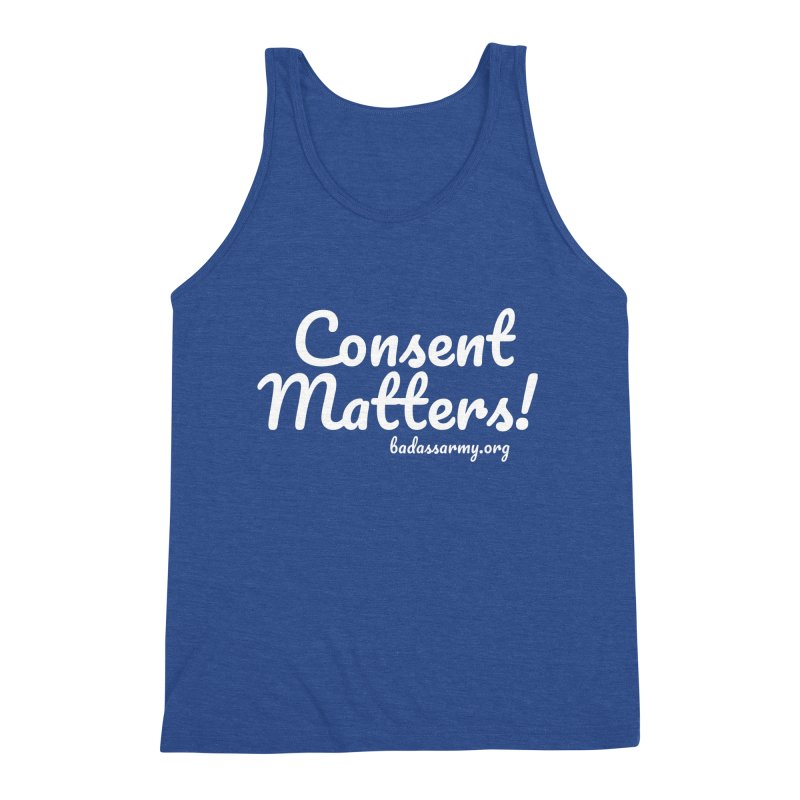 Consent Matters! Men's Tank by The Badass Army Shop