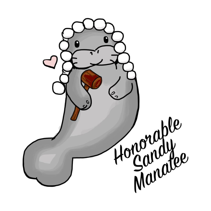 Honorable Sandy Manatee by The Badass Army Shop