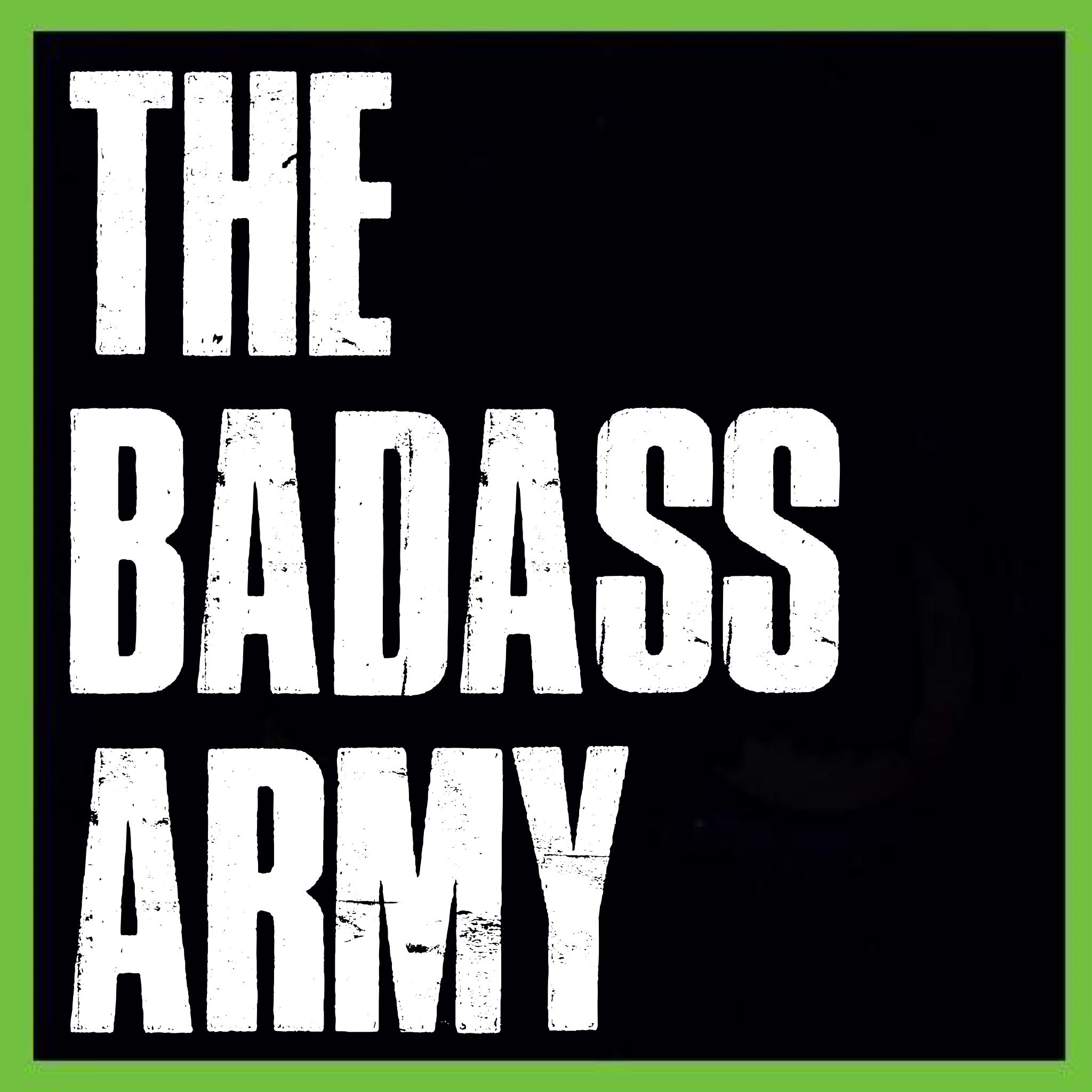 thebadassarmy's Artist Shop Logo